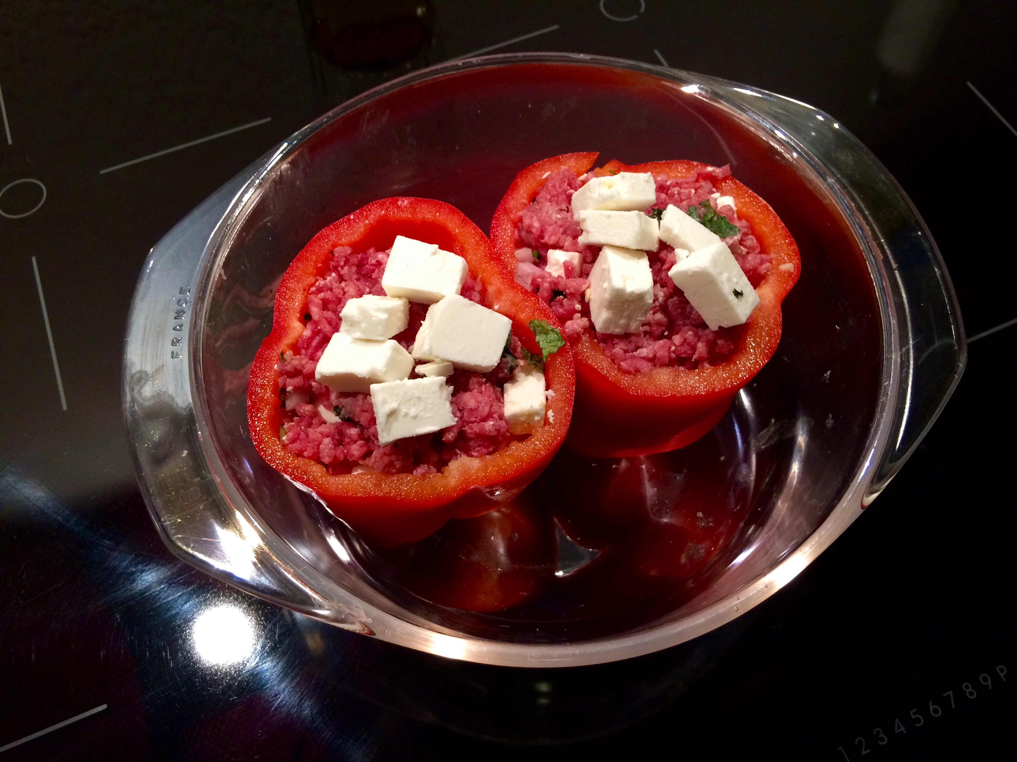 Rezept Der Woche Orientalisch Gefüllte Paprika Mit Tomatenreis Und